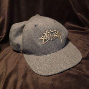 Grey Stussy Hat